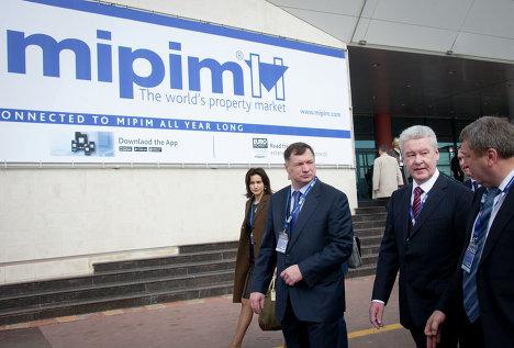 С.Собянин посетил Международную выставку MIPIM-2013 в Каннах