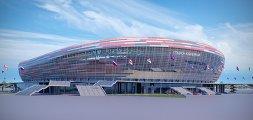 Макет стадиона в Саранске к ЧМ-2018