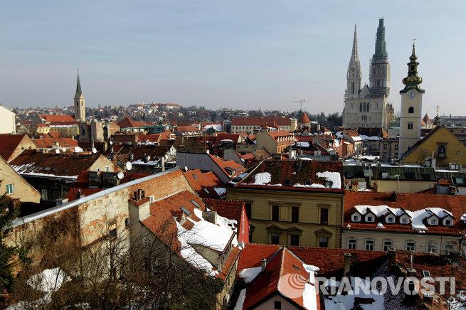 Города мира. Загреб