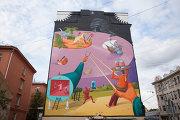 Самые яркие граффити фестиваля Лучший город Земли