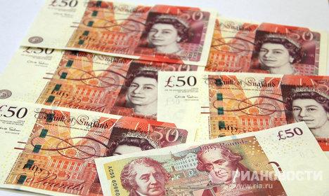 Новые 50-фунтовые банкноты Банка Англии образца 2011 года