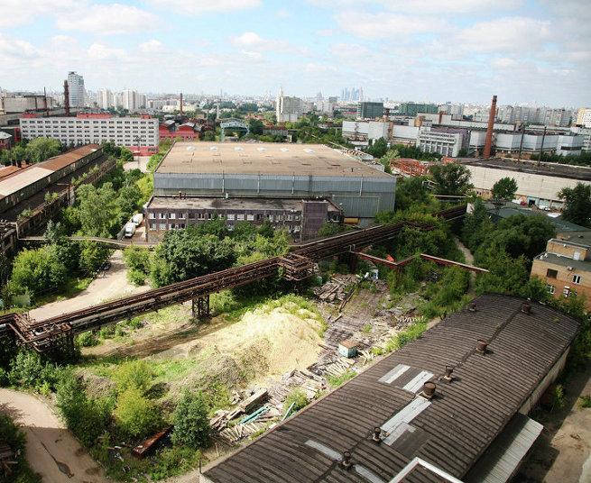 Промзона Серп и молот в Москве