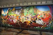 Фрески художника Лео Тангумы