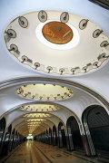 Открытие станции Маяковская после реконструкции