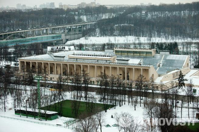 Бассейн спортивного комплекса Лужники в Москве