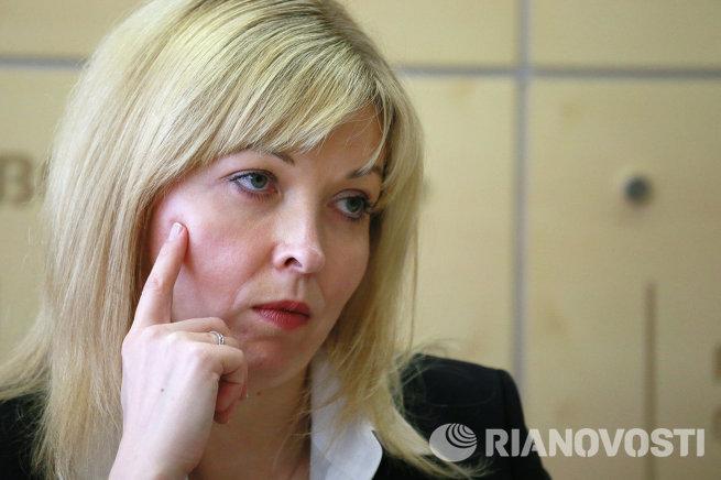 Руководитель Федеральной службы государственной регистрации, кадастра и картографии Наталья Антипина