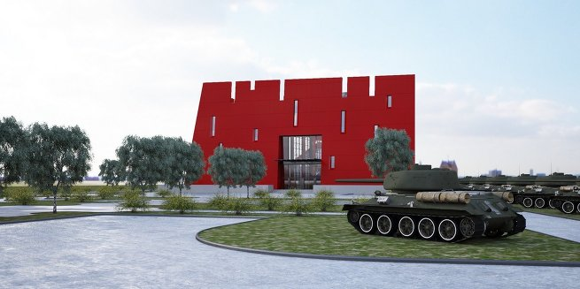 Как будет выглядеть музей танка Т-34 в Подмосковье