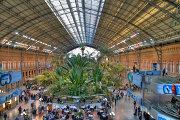 Ботанический сад вокзала Аточа в Испании