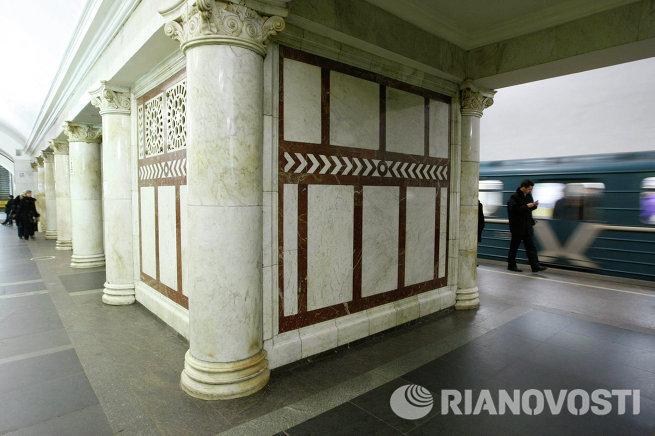 Станция Кольцевой линии Московского метрополитена Павелецкая