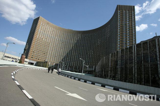 Гостиница Космос в Москве