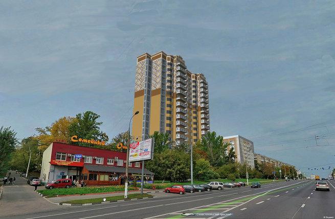 Обновленный вид фасадов проектов СУ-155