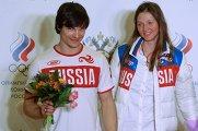 Встреча золотого рейса с чемпионами и призерами XXII Олимпийских зимних игр в Сочи