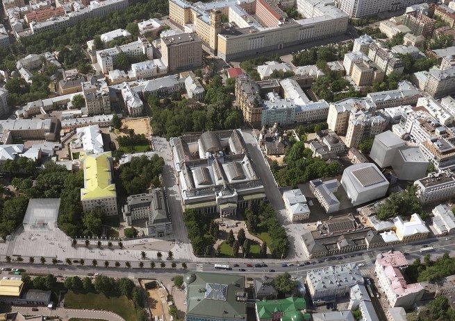 Концепция развития Государственного музея изобразительных искусств имени А.С. Пушкина архбюро Меганом
