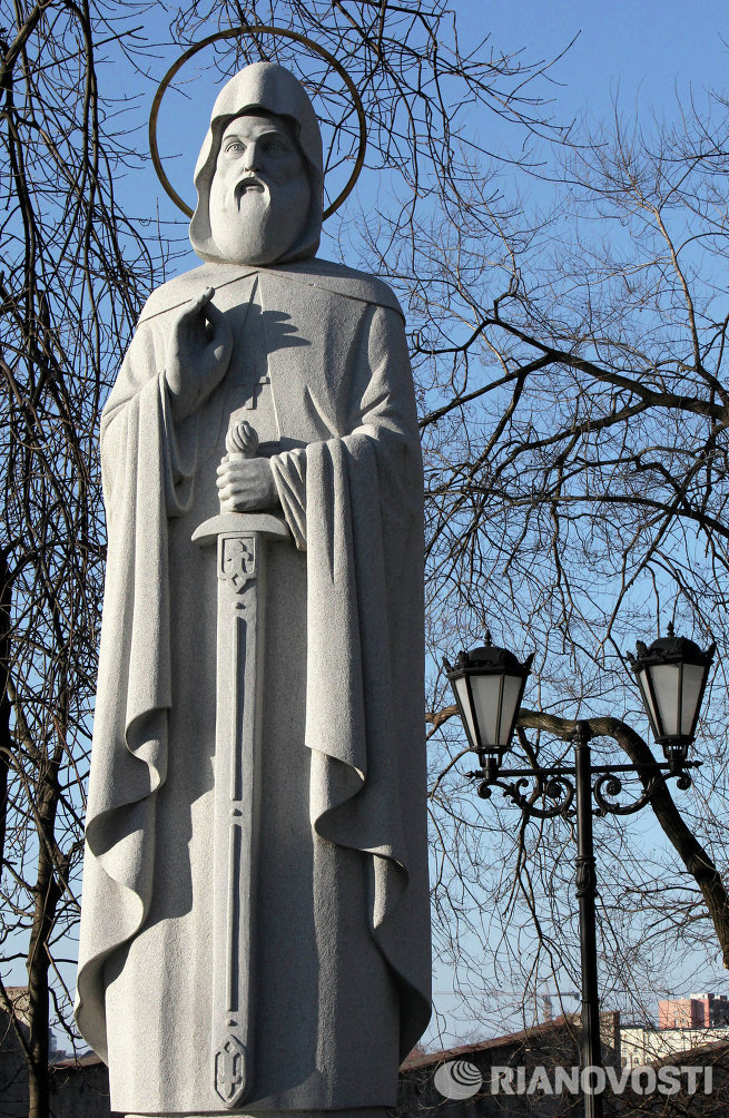 Памятник Преподобному Илии Муромцу во Владивостоке