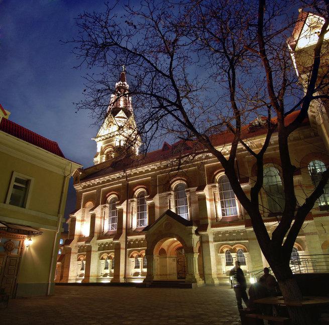 Здание кафедрального собора Святого Павла