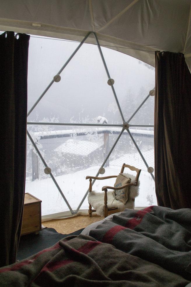 5 самых необычных отелей для зимнего отдыха в мире