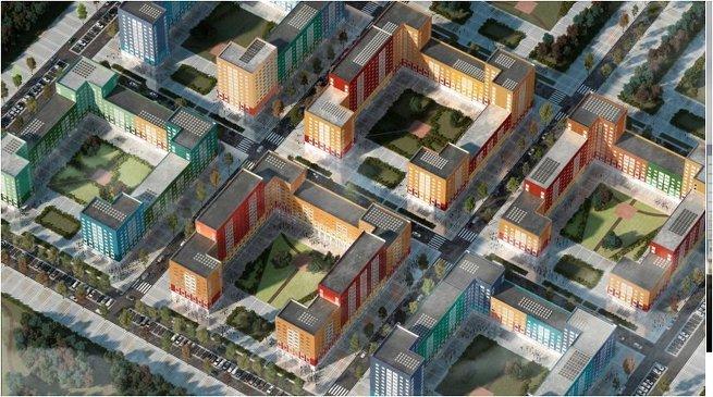 Проект типового жилья ДСК-1