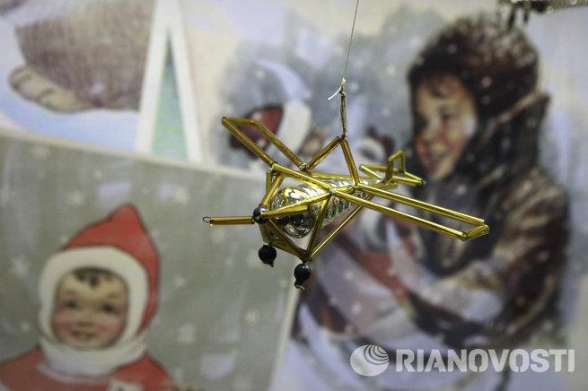 Выставка елочных игрушек предвоенной, военной и послевоенной поры