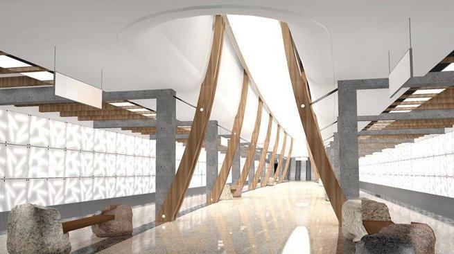 Проект станции метро Саларьево