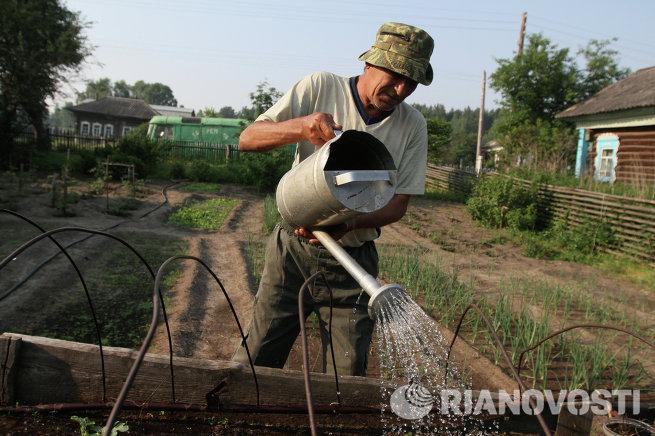 Жизнь деревни Окунево в Омской области