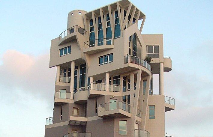 Необычный дом в Тель-Авиве