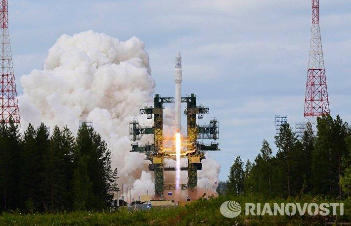 Пуск ракеты Ангара