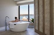 Ванная в одном из отелей Four-Seasons