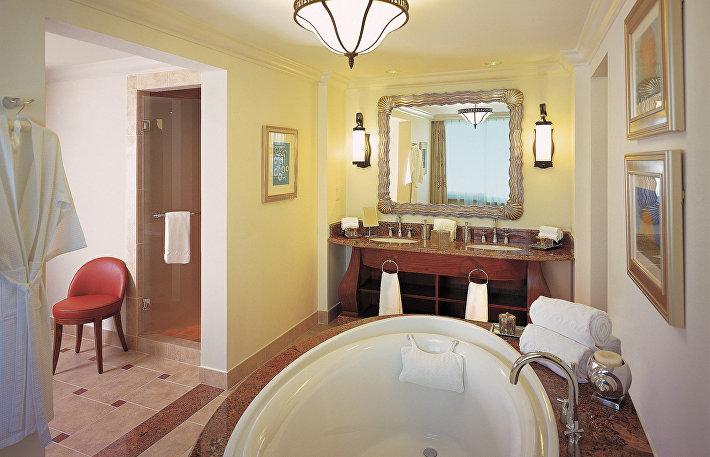 Ванная комната в отеле Park Hyatt Istanbul