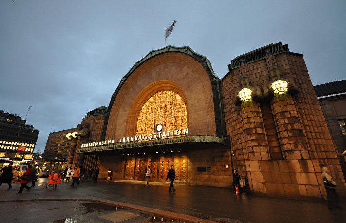 Вокзал в Хельсинки