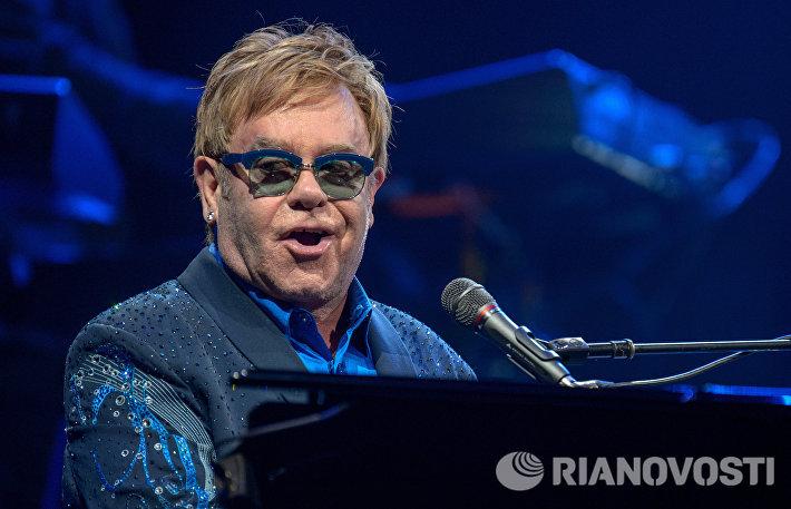Концерт Элтона Джона в Казани