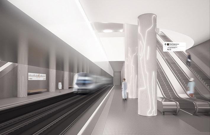 Как могут выглядеть стации московского метро Терехово и Нижние Мневники