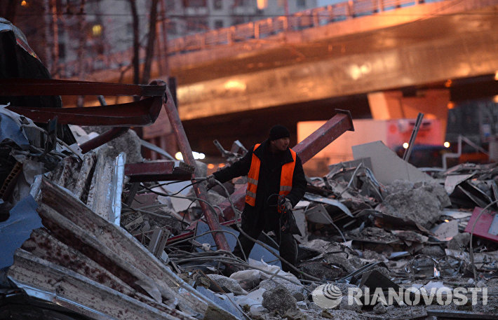 В Москве продолжается снос незаконных построек