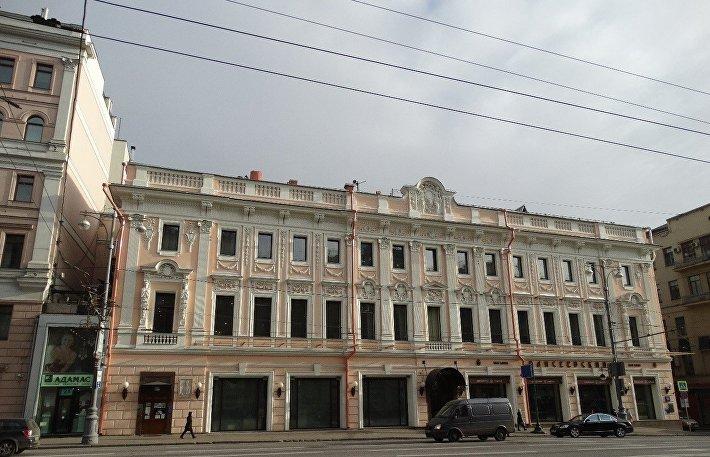 Отреставрированный магазин Елисеева в Москве