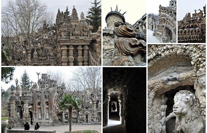 Идеальный дворец Фердинанда Шеваля в деталях