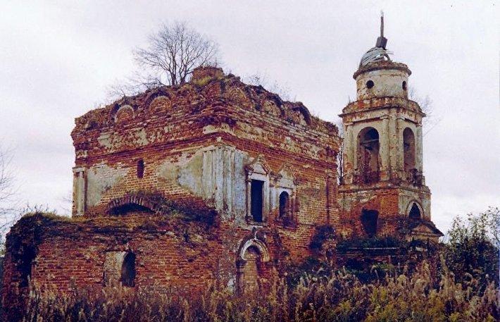 Храм Симеона Столпника за Яузой