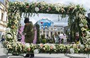 Подготовка к открытию фестиваля Московская весна