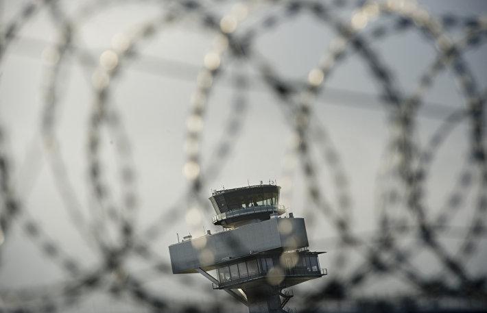 Диспетчерская вышка аэропорта Берлин-Бранденбург