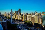 Проспект Авенида 9 де Хулио в Аргентине