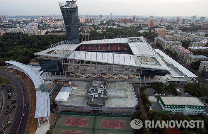 Строительство стадиона ПФК ЦСКА