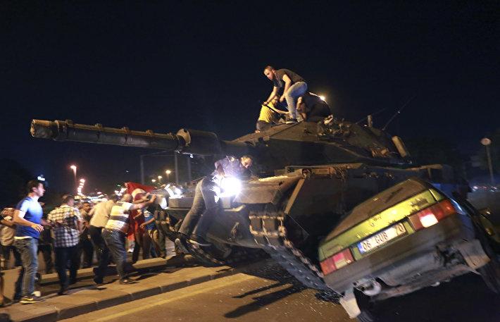События в Турции 16 июля