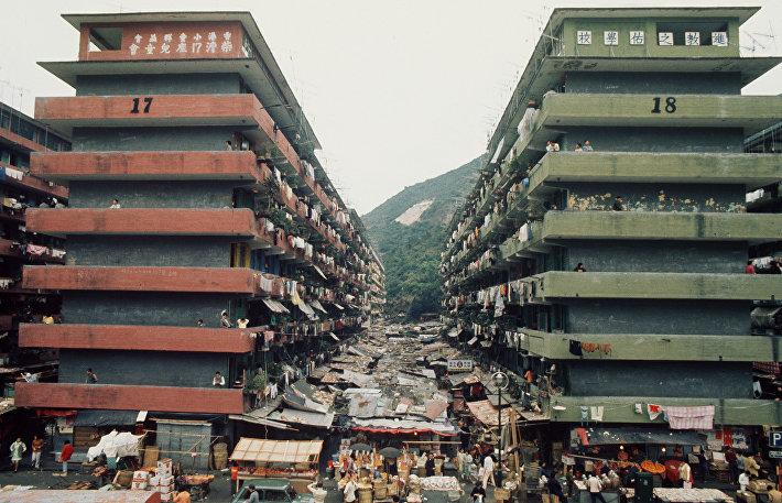 Жилье в районе Шек Кип Мей, 1972 год