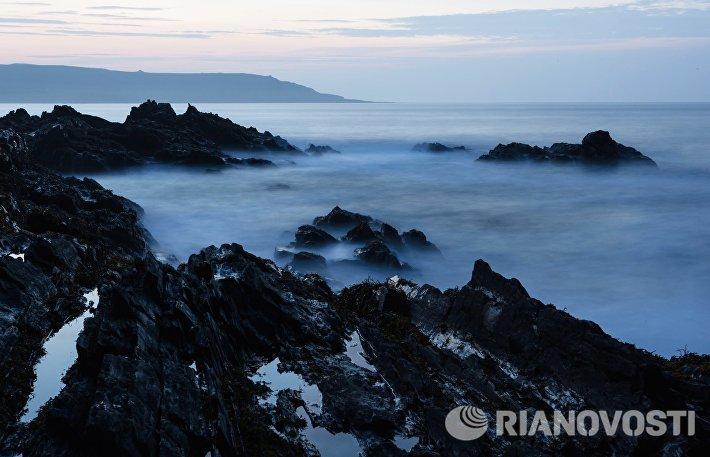 Полуостров Рыбачий в Мурманской области