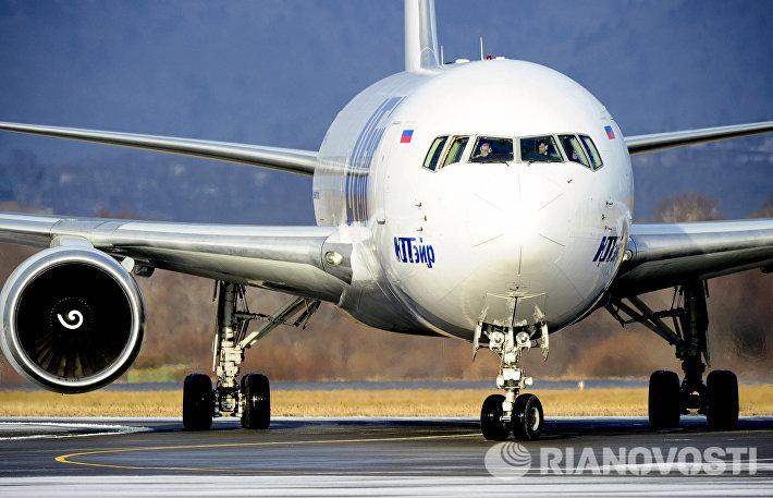 Рейс авиакомпании Utair