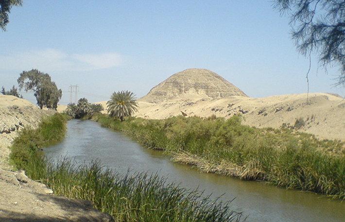 Пирамида фараона Аменемхета III в Хаваре