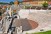 Остатки римского театра в Пловдиве