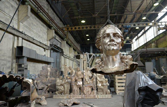 Изготовление памятника императрице Екатерине Великой для установки в Симферополе