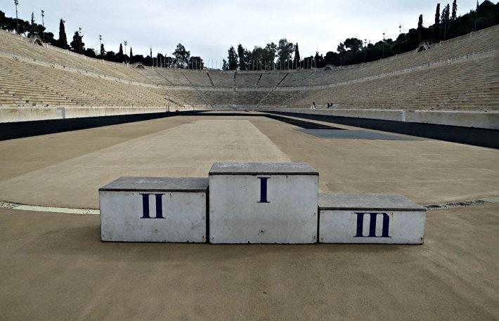 Олимпийский стадион в Афинах