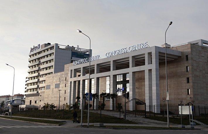 Отель Radisson Blu Resort & Congress Centre в Сочи