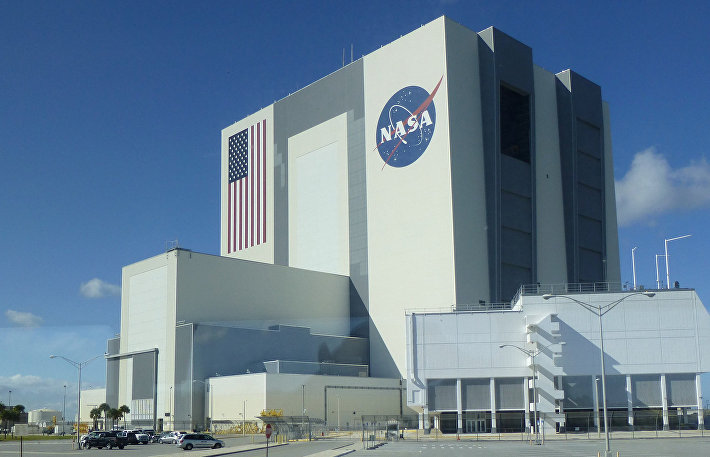 NASA Vehicle Assembly Building, Флорида, США
