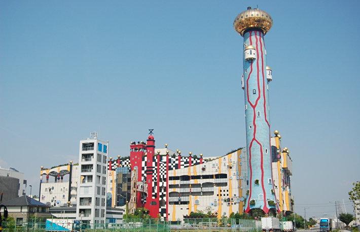 Фабрика Майсима, Осака, Япония